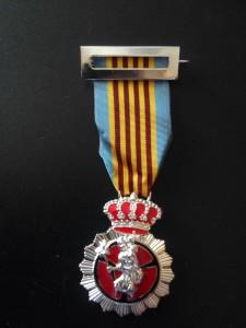 Cruz de Plata a la Constancia (10 años)