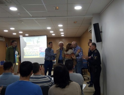 Acto solidario para José David realizado en Foios