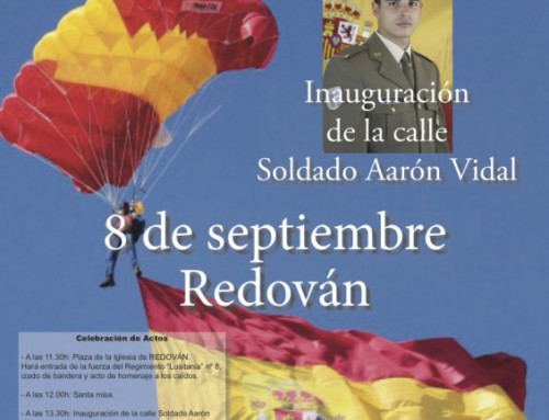 Inauguración Calle Aarón Vidal – Redován